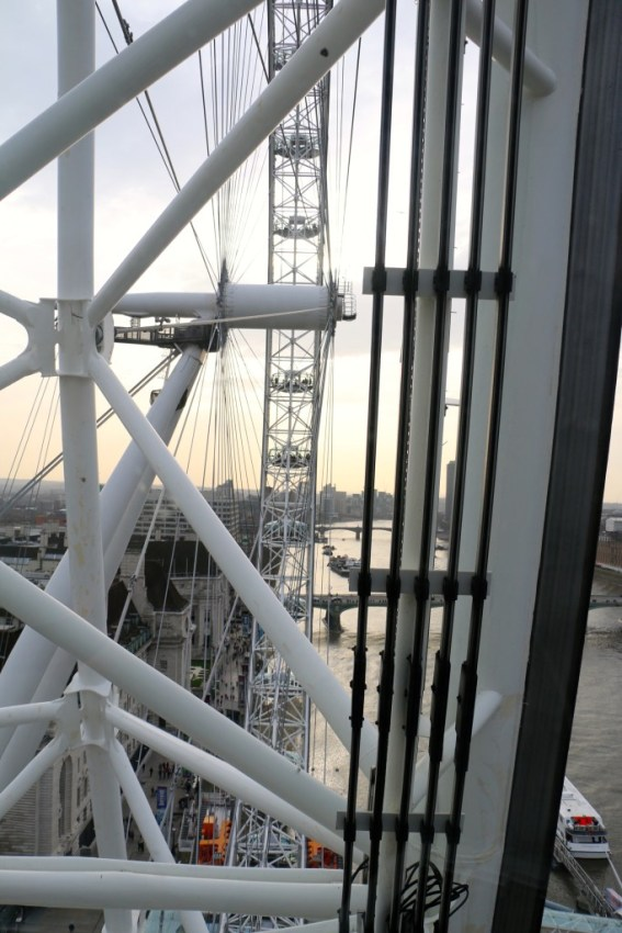 The London Eye, one spin, London