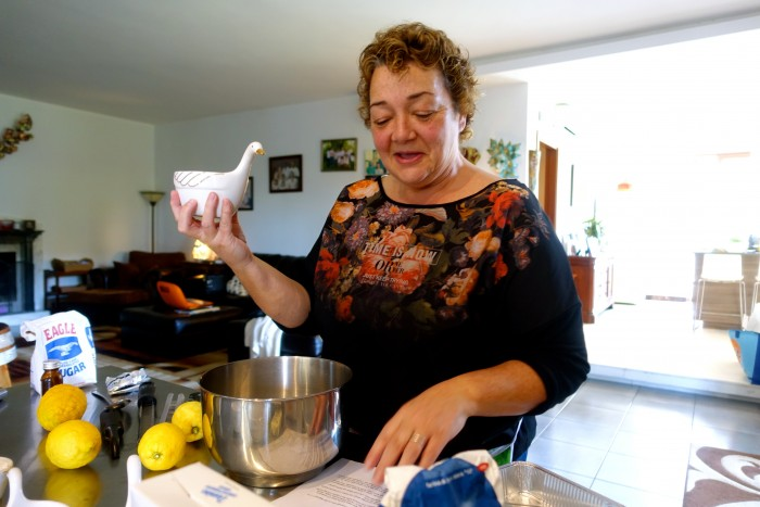 Learning how to make Limoncello 21