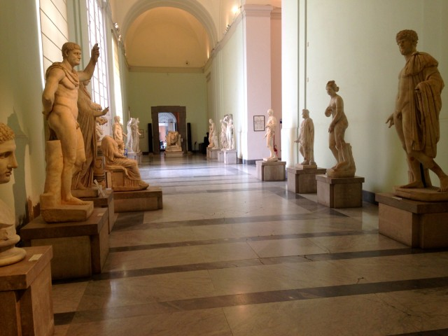 Archeological Museum, Naples Italy