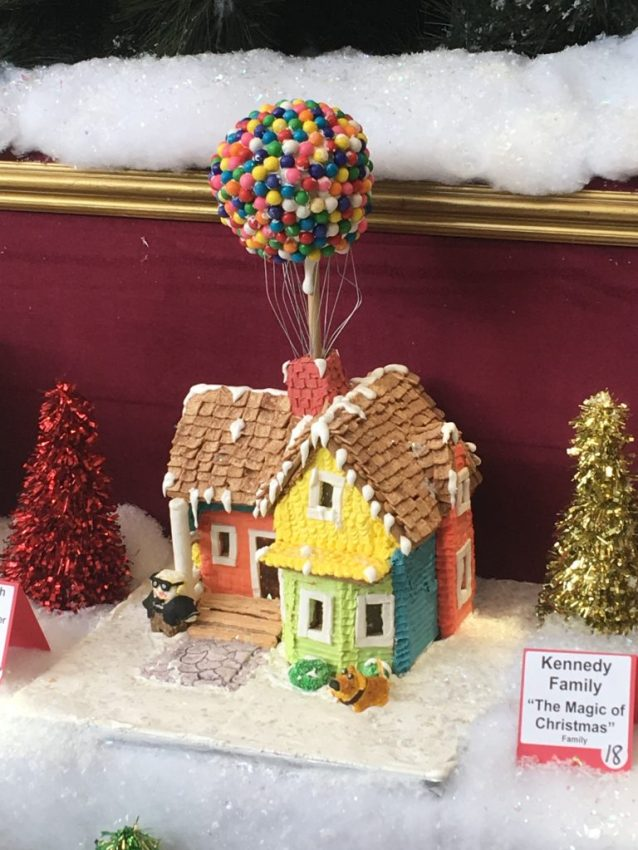 Gingerbread House of Up!