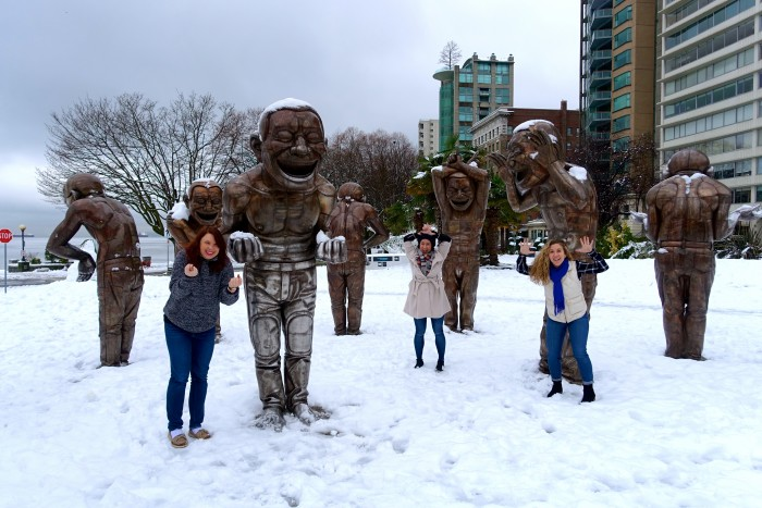 Laughing Statues, Vancouver Canada 3