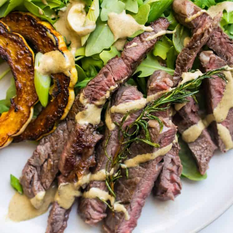 The Perfect Steak Salad With Meater Keto Aip Whole30