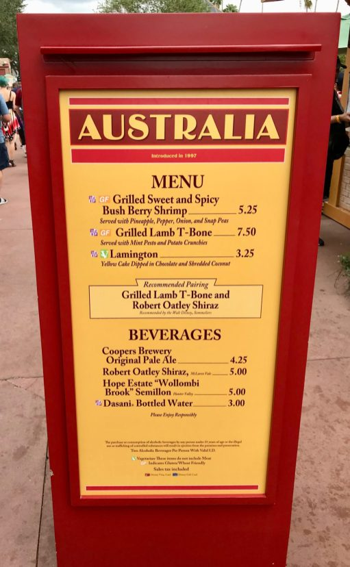 food and wine australia booth list