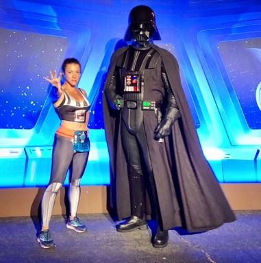 ark Side Race Weekend runDisney First Order Challenge Darth Vader 2