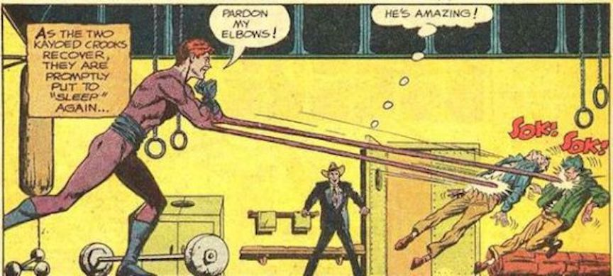 Justice League Month Spotlight On Elongated Man The Casual Geekery