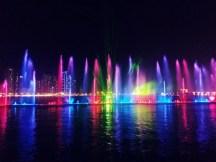 Waterfront Light Show, Sharjah