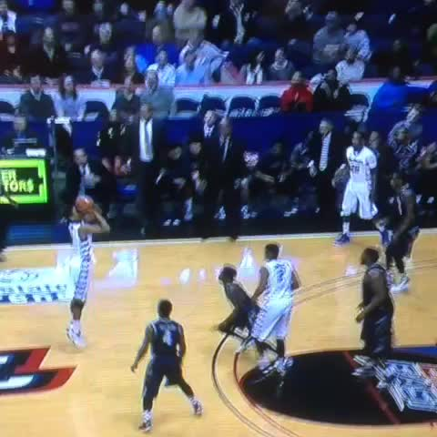 d9b940c7ba3f WATCH  Hilarious naval bench celebration by DePaul