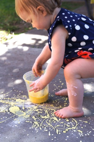 Baking Soda Paint - 08