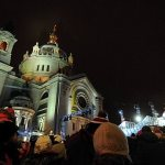 Slide show: Crashed Ice finale at Cathedral of St. Paul