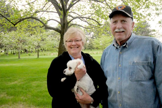 Don and Bonnie Quigley will host the annual Rural Life Sunday Celebration at their farm near ­Lindstrom. Dianne Towalski / The Catholic Spirit