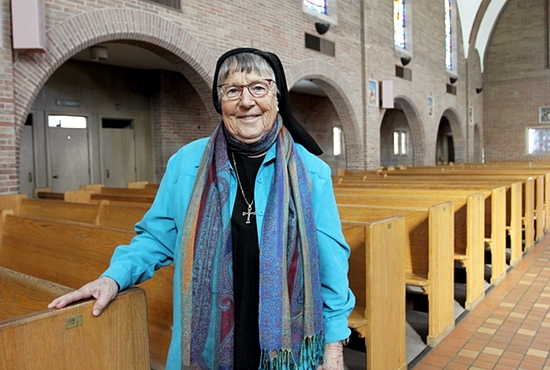 Sister Rosalind Gefre.  Photo courtesy of Christina Capecchi