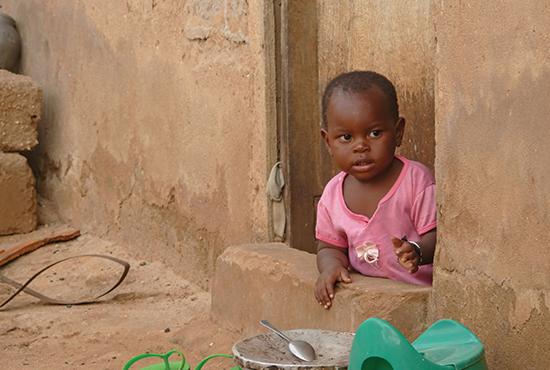 Mtwara, Tanzania - December 3, 2008: The Village.