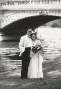Hayes-Ruoff wedding pic