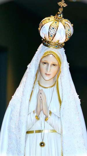 Pilgrim Virgin statue of Our Lady of Fatima