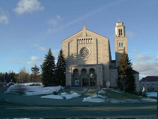 Cathedral of Our Lady of the Rosary, Duluth, Minnesota.