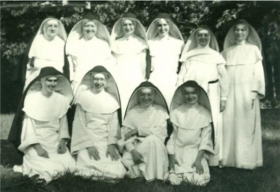 Dominican Sisters who taught at St. Albert the Great School in Minneapolis, date unknown. Courtesy the Sinsinawa Dominicans