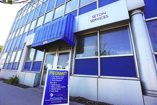Catholic Charities' Seton Prenatal Clinic on University Avenue in St. Paul will close in August. Dave Hrbacek/The Catholic Spirit