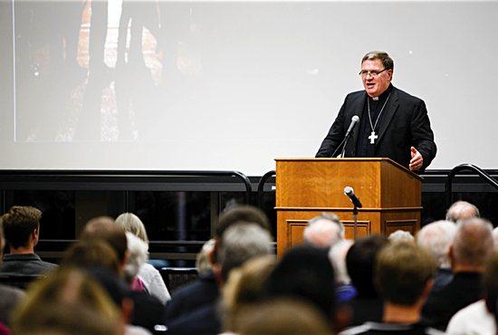 Cardinal-designate Tobin Courtesy University of St. Thomas