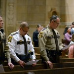 Police officers, first responders honored at Blue Mass