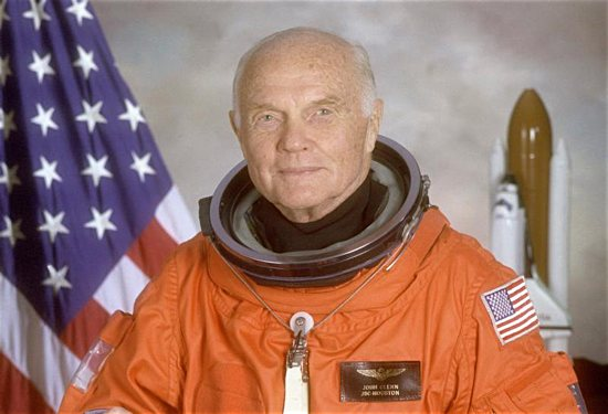 U.S. astronaut John Glenn, pictured in his official 1998 NASA photo, died Dec. 8 at age 95. His 1962 flight as the first U.S. astronaut to orbit the earth made him an all-American hero and propelled him to a long career in the U.S. Senate. CNS photo/NASA handout via Reuters