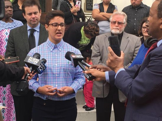Immigrant advocates concerned about 'Dreamer' apprehended by