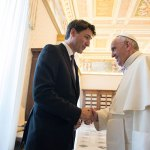 Pope, Trudeau talk about reconciliation with Canada's indigenous people