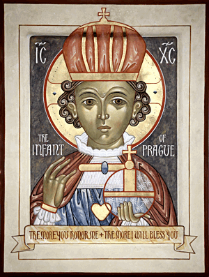 Infant of Prague from Iconographer Nicholas Markell