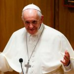 Good works are response to, not reason for God's forgiveness, pope says