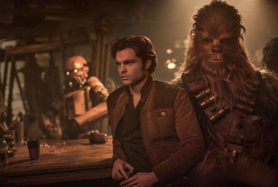 Alden Ehrenreich plays Han Solo