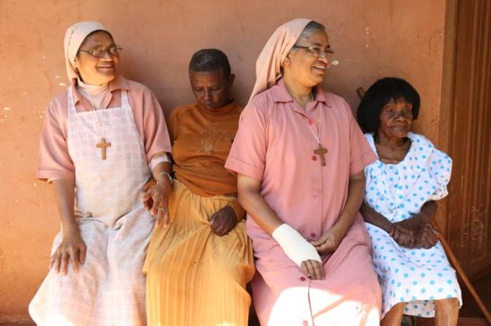 ociety of Nirmala Dasi Sisters running St. Mary's Village for aged and incapacitated women in Sagana, Kenya