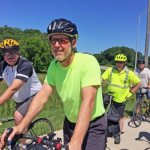 Parish hosts Bishop's Bike Ride as cycling send-off for event across Iowa