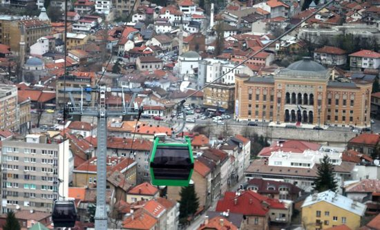 Trebevic cable car