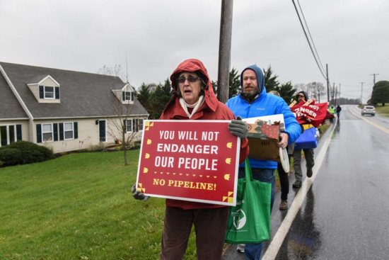 The Adorers of the Blood of Christ have petitioned the U.S. Supreme Court on whether their religious freedom rights are being violated by construction of the pipeline through its land in Lancaster County