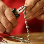 Rosary maker grows his own beads
