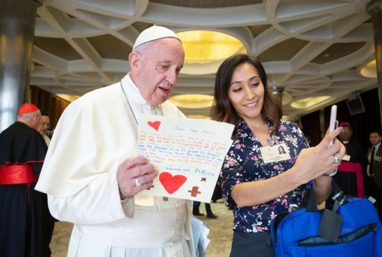 Vieyra told the synod Oct. 12 that U.S. immigration policies are causing distress for migrants.