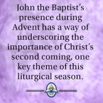 Advent week four: Making John the Baptist's acquaintance in Advent
