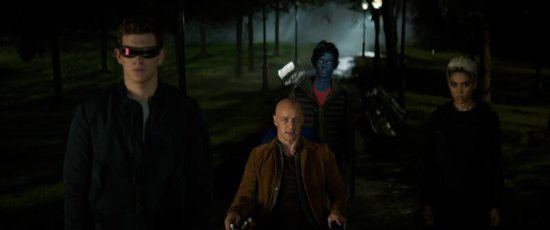 "Tye Sheridan, James McAvoy, Kodi Smit-McPhee and Alexandra Shipp star in a scene from the movie ""Dark Phoenix."" The Catholic News Service classification is A-III -- adults. The Motion Picture Association of America rating is PG-13 -- parents strongly cautioned. Some material may be inappropriate for children under 13."