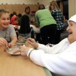 $28 million distributed to religious orders to care for aging members