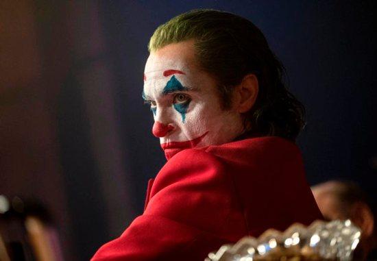 "Joaquin Phoenix stars in a scene from the movie ""Joker."""