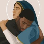 From prayer to art: George Floyd in Mary's arms