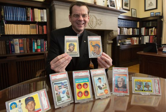 Priest prepares to sell his coveted collection to raise money for low-income students - TheCatholicSpirit.com
