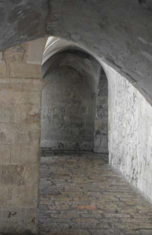Jerusalem inside the upper room