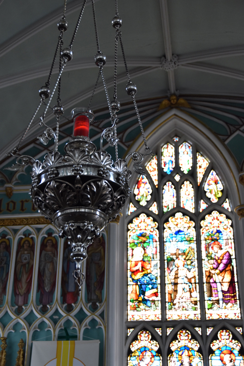 Inside St. Patrick's Church, Fermoy, County Cork, Oct. 4, 2015. (Sun photo | Katherine Long)