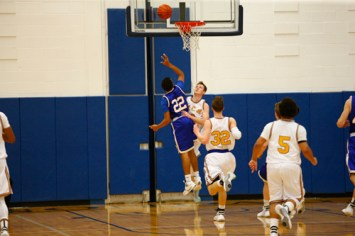 O7U9452 1 - Rosary tops Assumption in 'throwback' basketball game