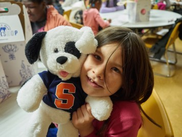 Elizaberth Labaff cover 1 - Church kids build toy bears and make tykes' day