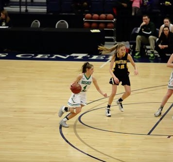 Ludden No. 4 Meg Sierotnik 1 - Ludden, Grimes girls to face off in basketball final