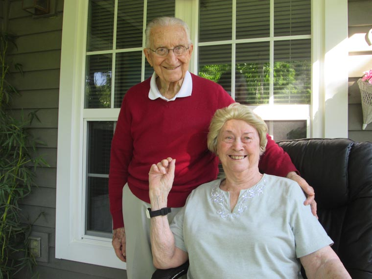 A 75-year love: 'We just happened to be a good match'