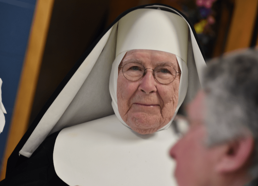 Sister Celestine's 90 years of life and faith celebrated