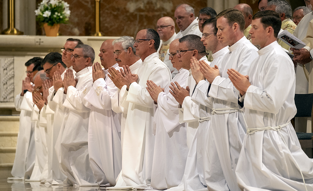 Ambassadors of Christ: Deacons ordained at Cathedral