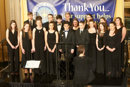 CFW08528 - Catholic schools, supporters shine  at annual celebration